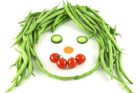alimentación sana y flores de bach