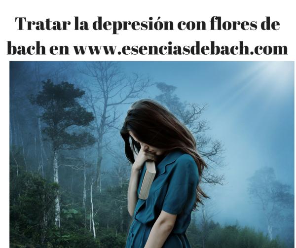 tratar la depresión con flores de bach