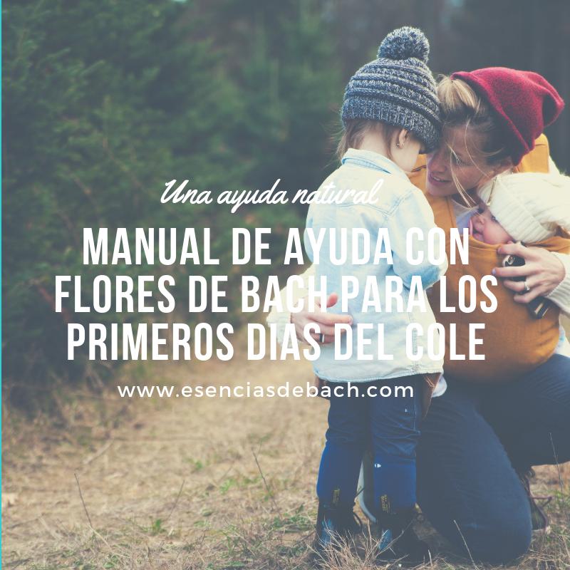 manual de ayuda con flores de bach para los primeros días del cole